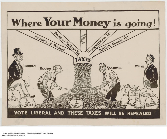 Vintage Tax Cartoon
